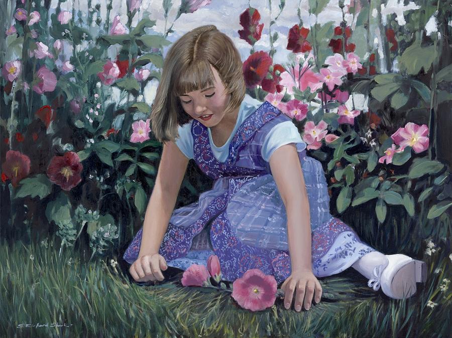 Portrait Painting - Sarah by Richard Shook