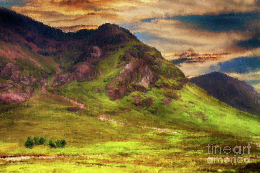 Scotland, My Home Painting