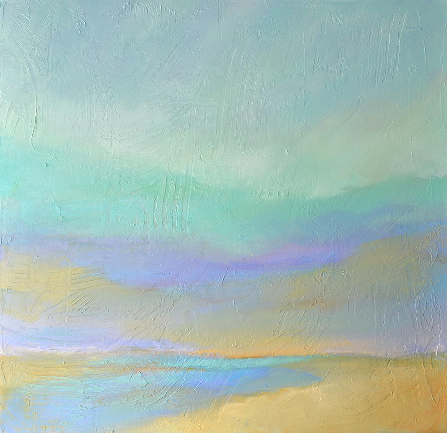 Sea Painting - Sea And Sand by Filomena Booth