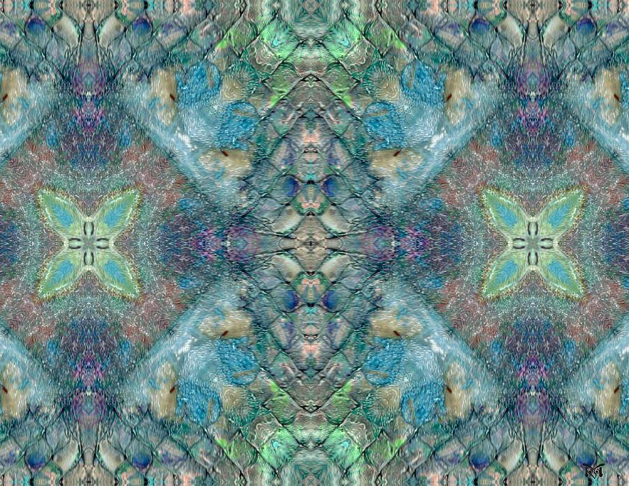 Acrylics Digital Art - Seascape II by Maria Watt