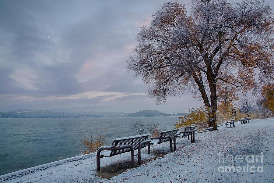 Coeur D'alene Photograph - Seasons Change by Idaho Scenic Images Linda Lantzy