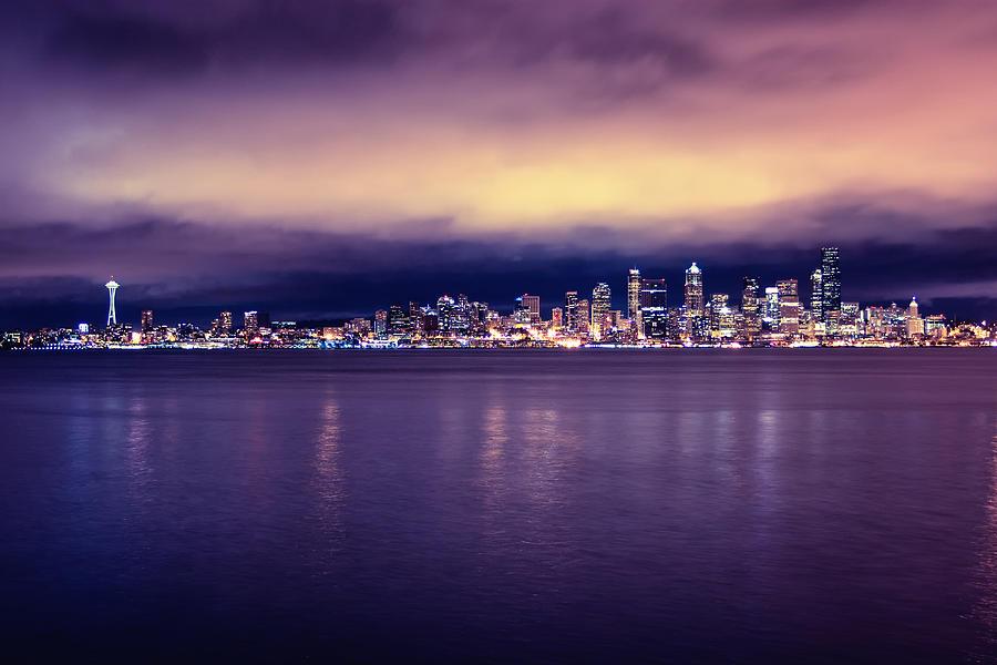 Seattle Photograph - Seattle From Alki by Tanya Harrison