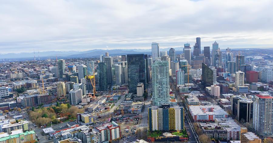 Seattle Skyline II by Cathy Anderson