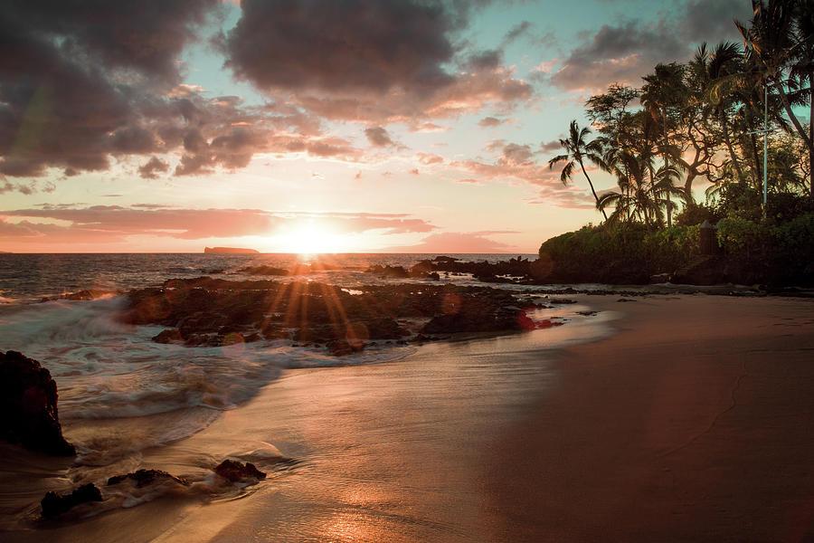 Landscape Photograph - Secret Beach Maui by Seascaping Photography