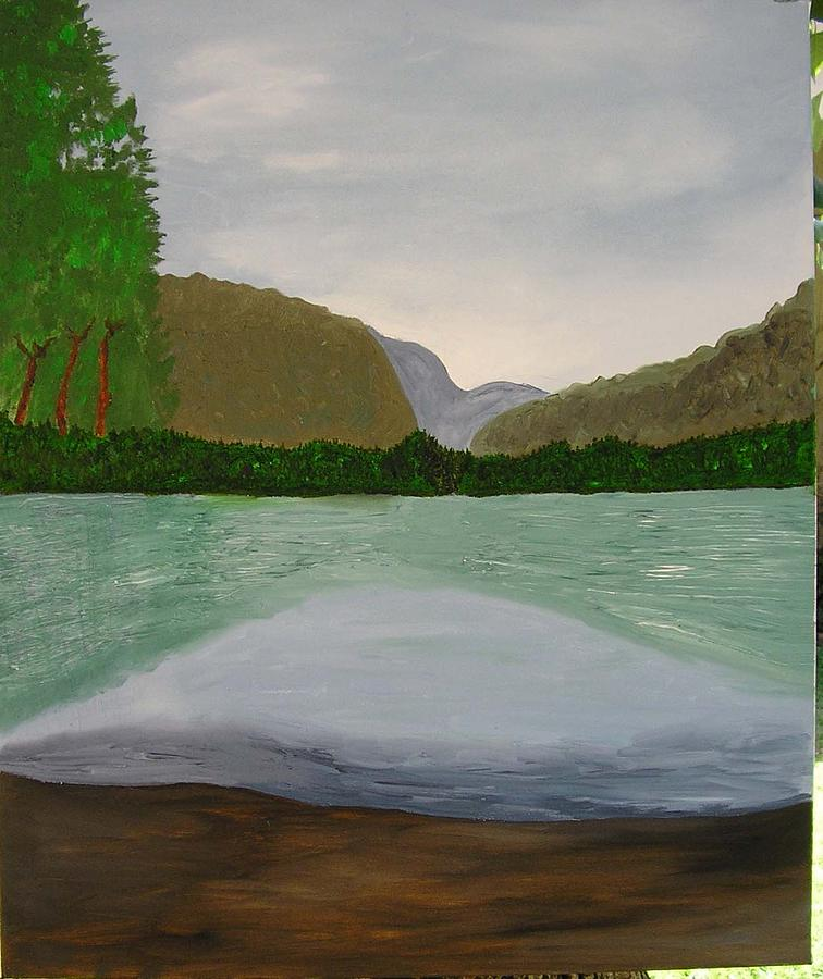 Secret Pool Painting by Harris Gulko