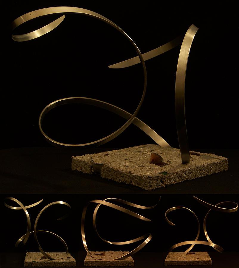 Steel Sculpture - Seduction by Evan Leutzinger