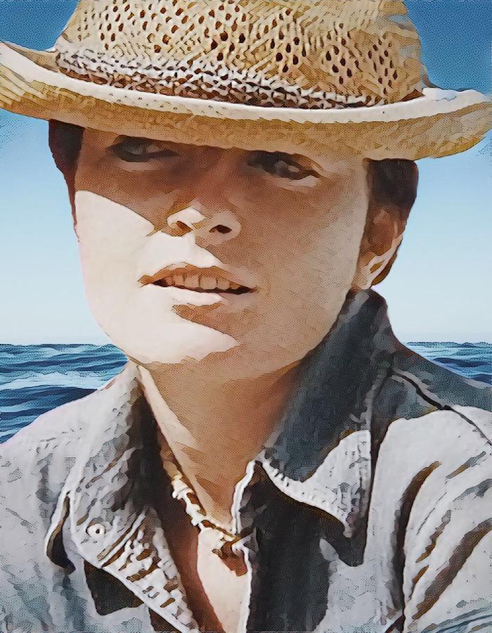 Selfportrait  by Colette V Hera Guggenheim