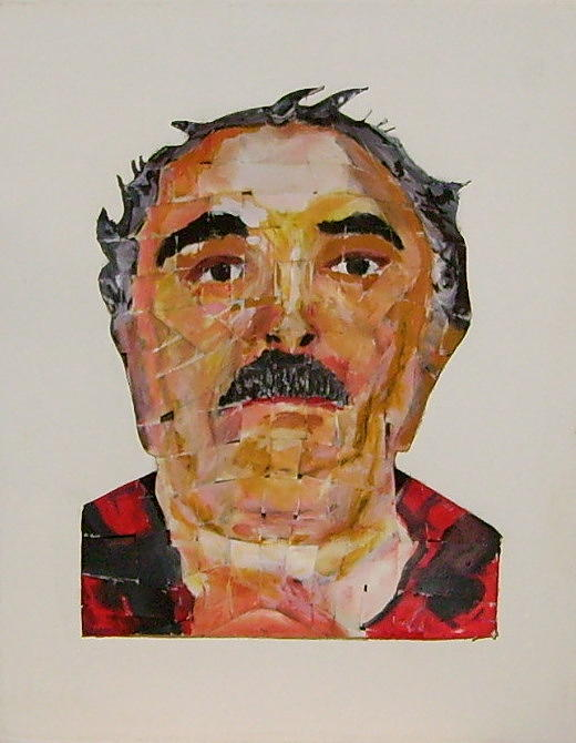 Selfportrait Illusion Mixed Media by Serge Verwest