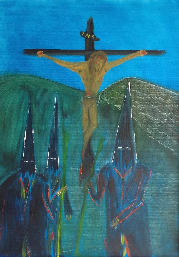 Semana Painting - Semana santa  by Roger Cummiskey