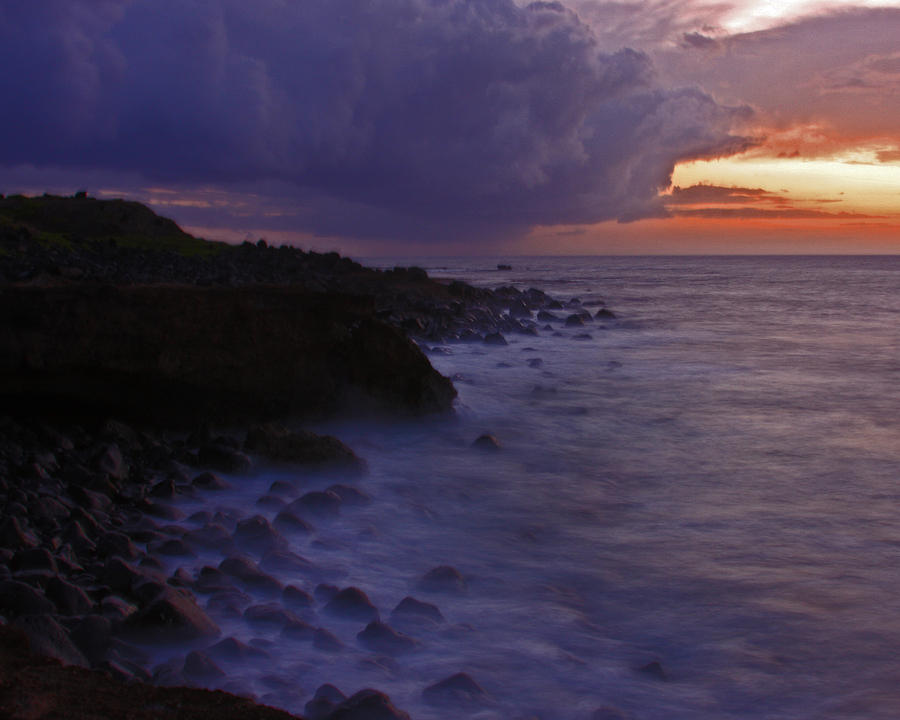 Serene Photograph - Serene Sunset by Troy Karr