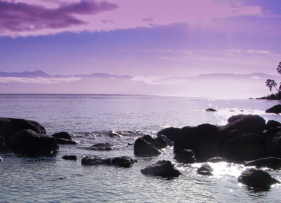 Beach Photograph - Serenity by Chrissy Gibbs