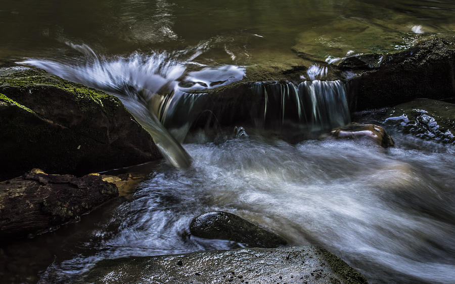 Water Photograph - Serenity by Denise Clark