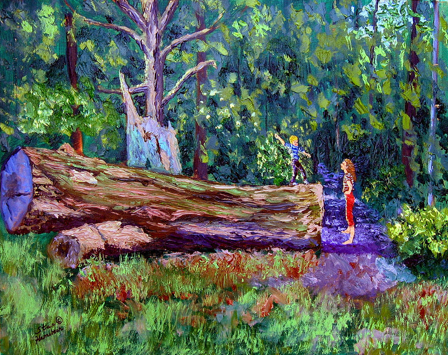 Landscape Painting - Sewp 6 21 by Stan Hamilton