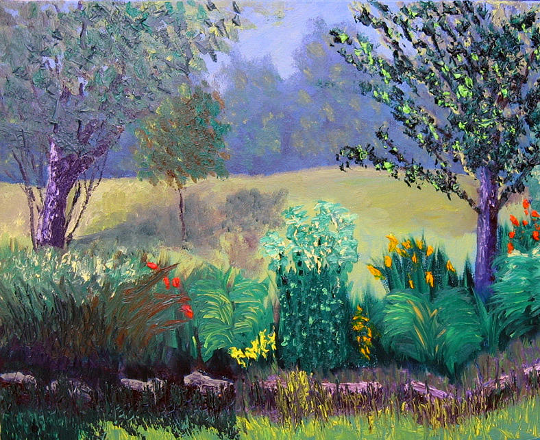 Landscape Painting - Sewp 6 23 by Stan Hamilton