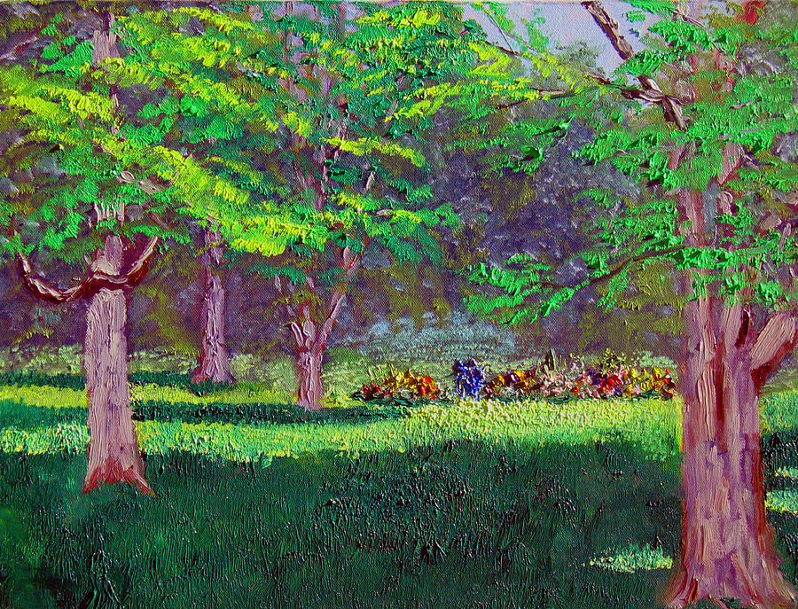 Landscape Painting - Sewp 7 20 by Stan Hamilton