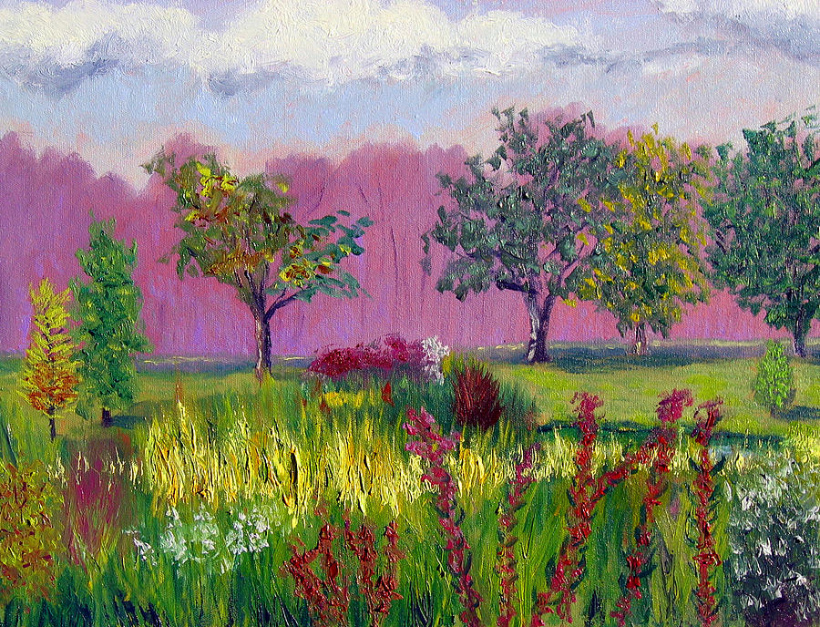Landscape Painting - Sewp 9 24 by Stan Hamilton