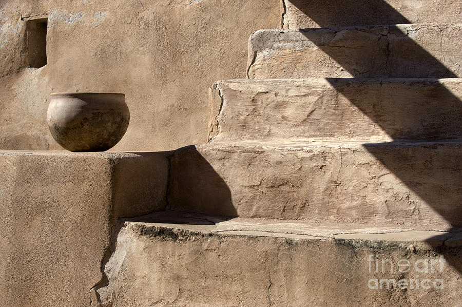 Bronstein Photograph - Shadows Of Tumacacori by Sandra Bronstein