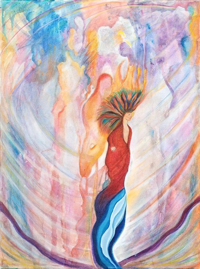 Shamanism Painting - Shamans Dream by Leti C Stiles