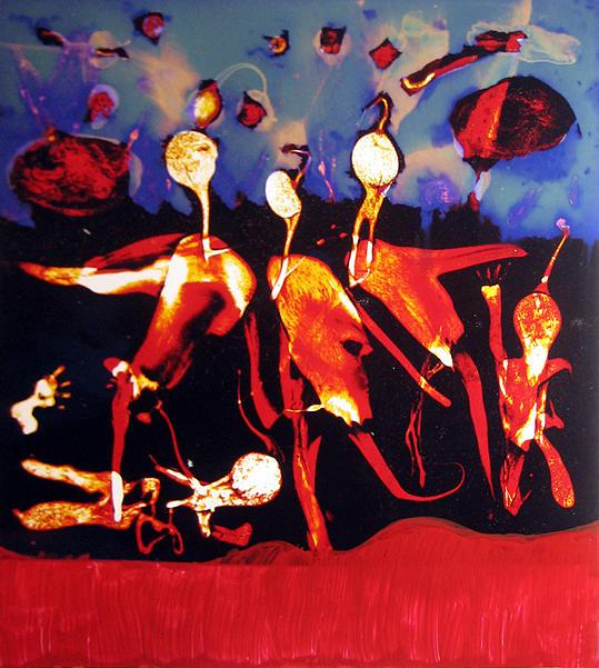 Shelling No2 Painting by MBL Binlamin