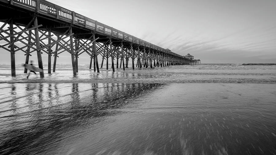 Alexandria Photograph - Shoot The Pier by Michael Donahue