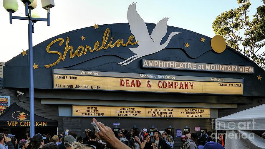 Shoreline Amphitheatre Photograph - Shoreline Amphitheatre - Dead And Company by David Oppenheimer