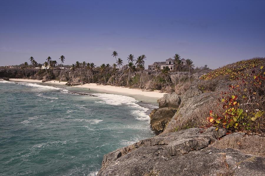 Caribbean Photograph - Shores Of Barbados by Andrew Soundarajan