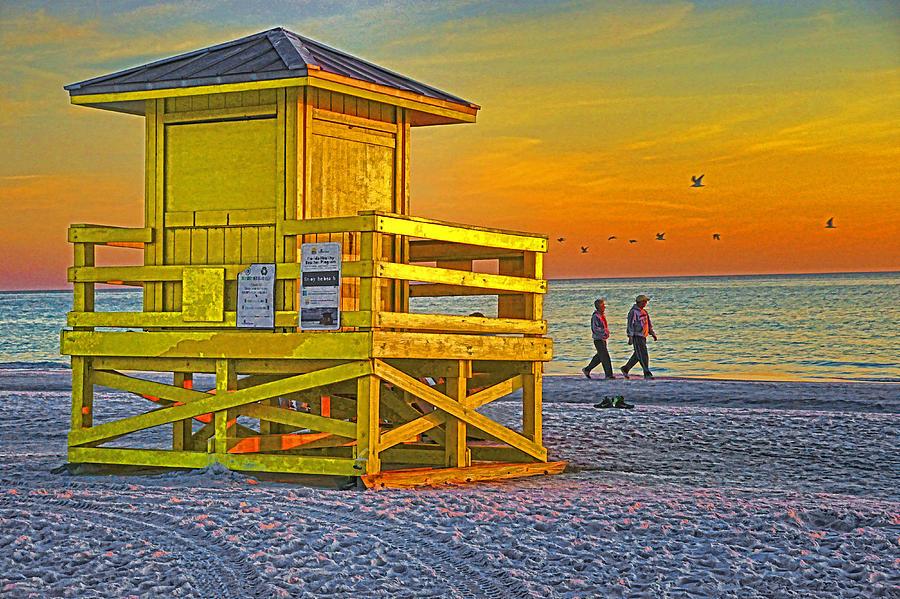 Florida Photograph - Siesta Key Sunset by Dennis Cox