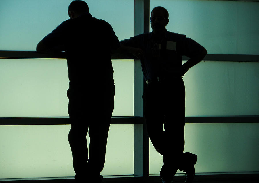 Silhouettes Photograph by Pepsi Freund