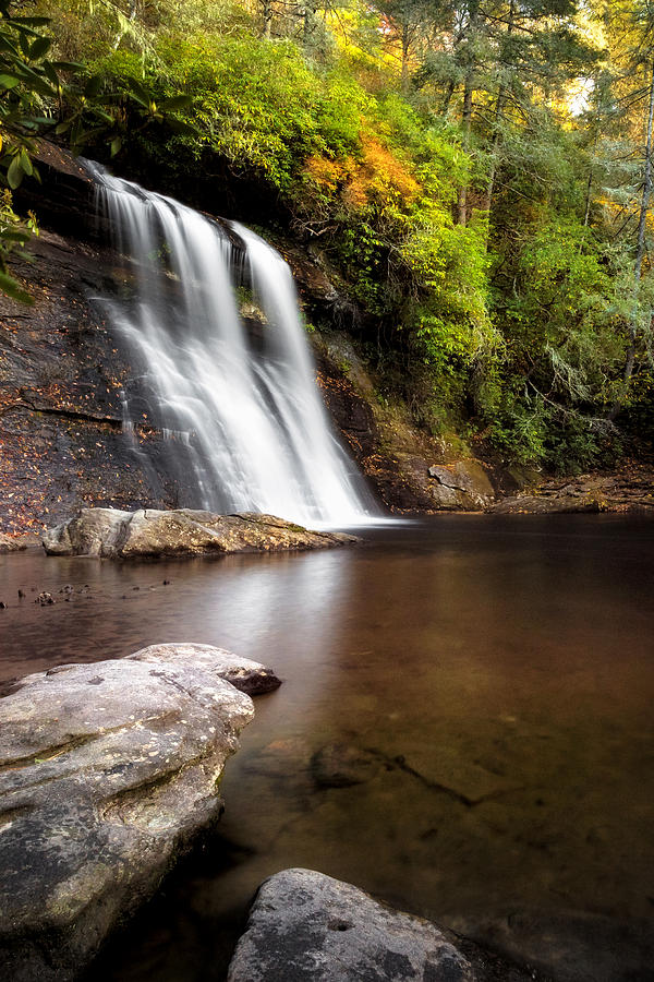 Silver Run Falls by Tommy  White