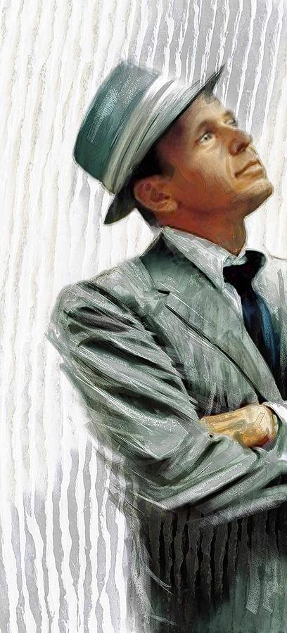 Sinatra Painting by James Robinson
