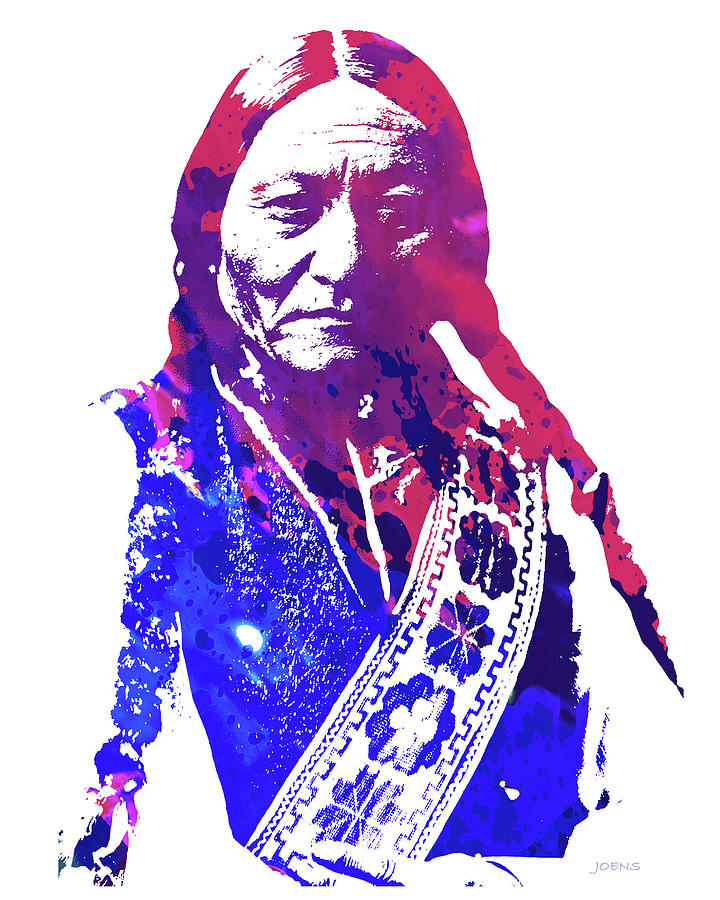 Sitting Bull Drawing