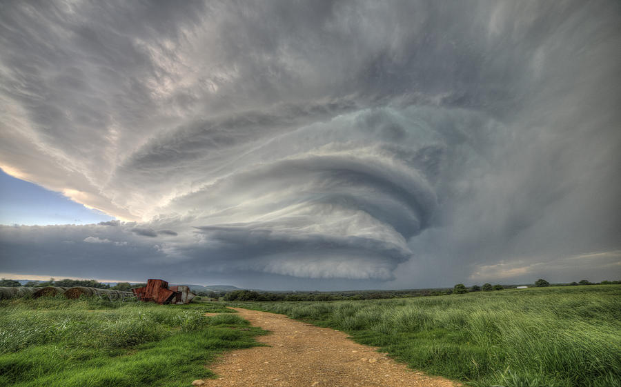 Storm Photograph - Sky Monster by Brandon Sullivan