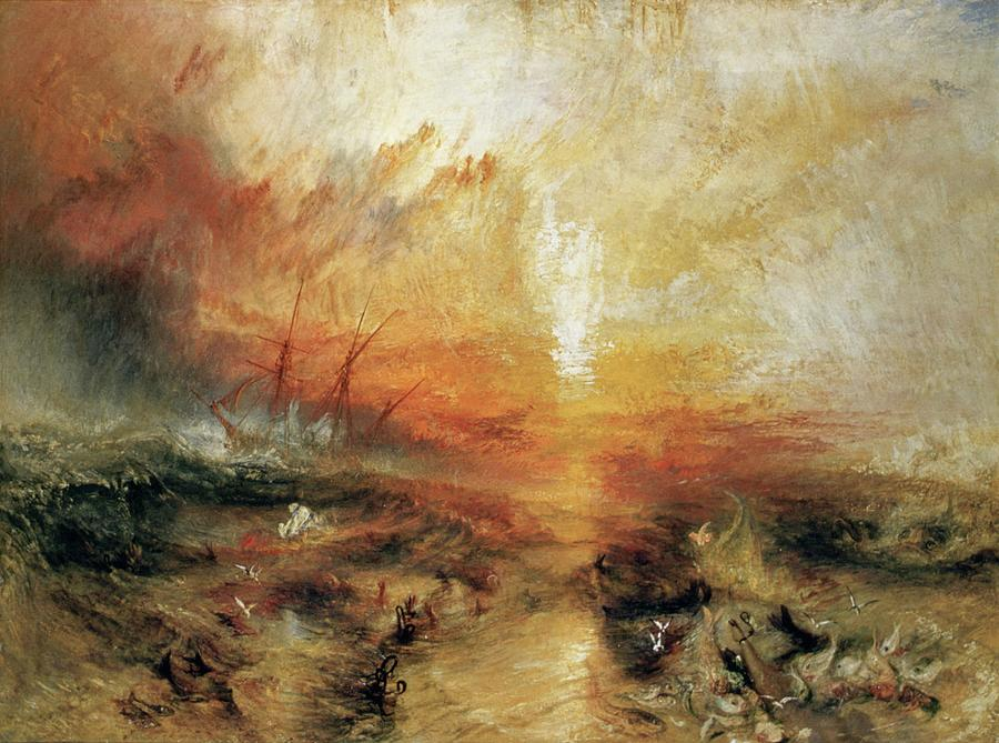 Slave Ship by Joseph Mallord William Turner