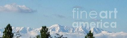 Mountains Photograph - Snow Capped Mountains by Jamey Balester