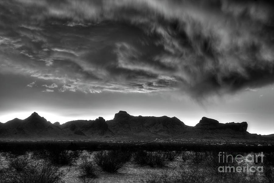 Nature Photograph - Snow Clouds  by Rick Mann