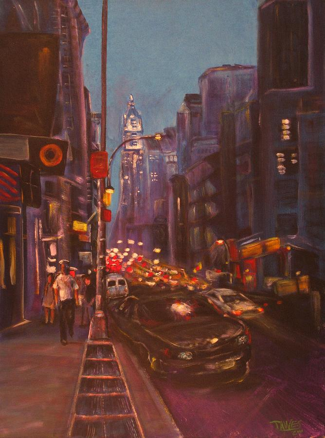 New York Painting - Soho Artistic Dreams by Dennis Tawes
