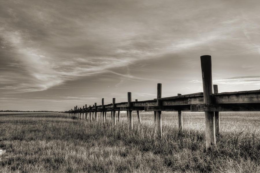 Dock Photograph - Sol Legare Dock by Dustin K Ryan