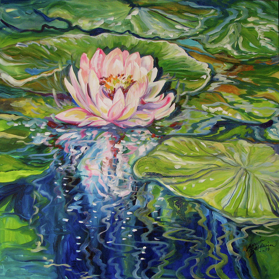 SOLITUDE WATERLILY by Marcia Baldwin