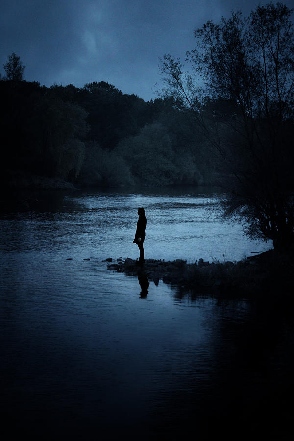 Solitary Photograph - Solitude by Cambion Art