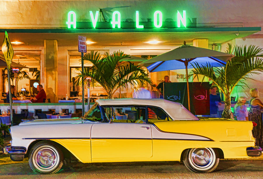 Travel Photograph - South Beach Classic by Dennis Cox