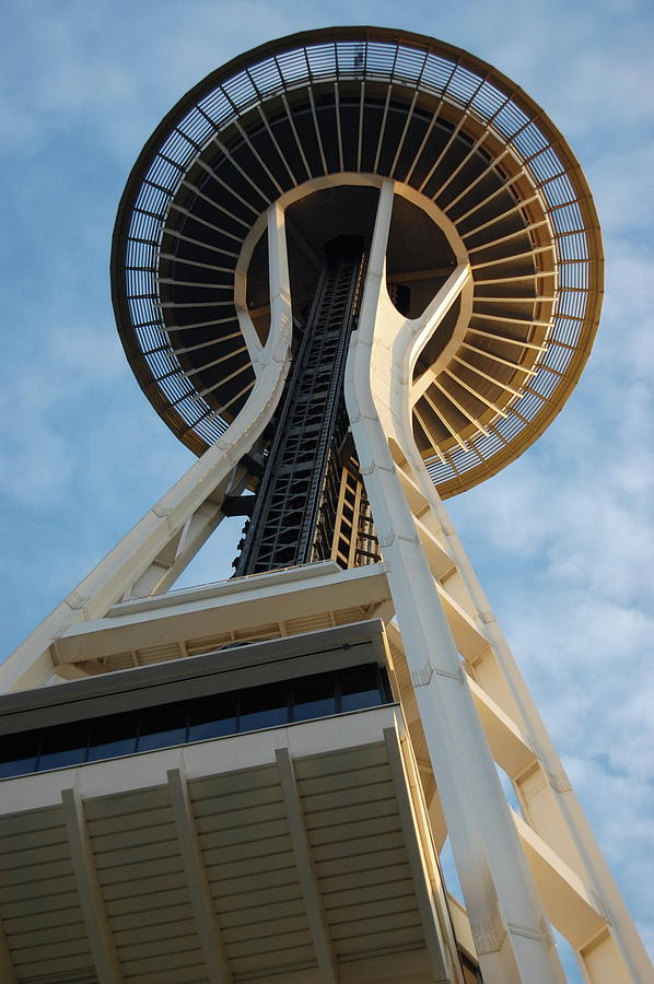 Space Needle Photograph - Space Needle by Samantha Kimble