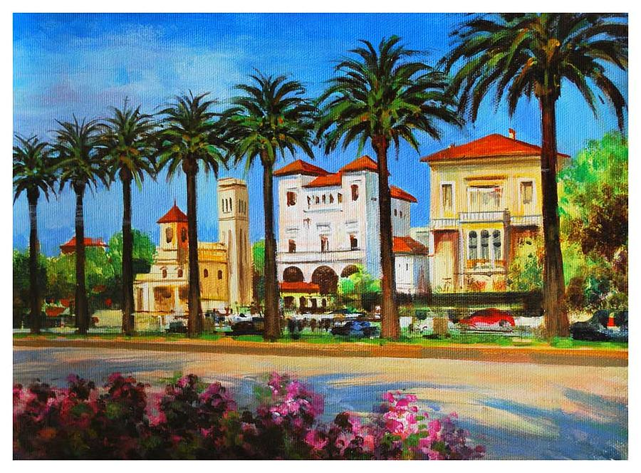 Spanish Landscape Painting By Manuel Garcia