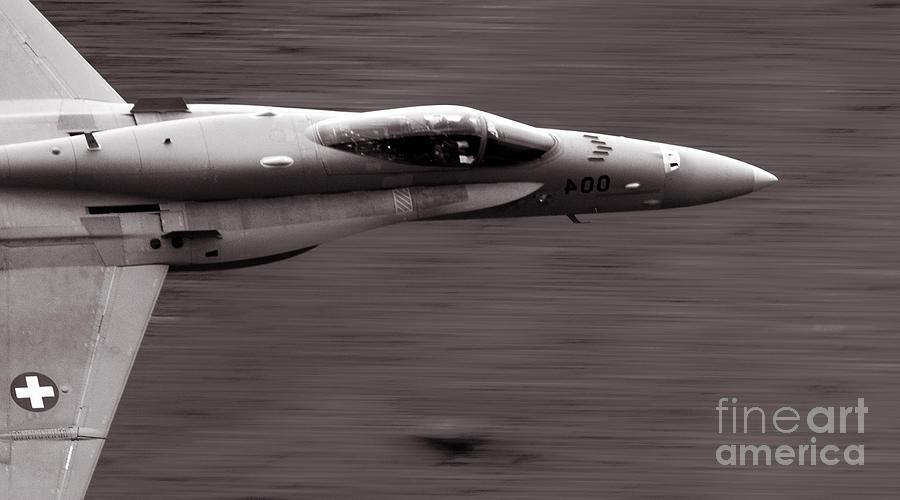 Axalp Photograph - Speed Of Sound by Angel  Tarantella