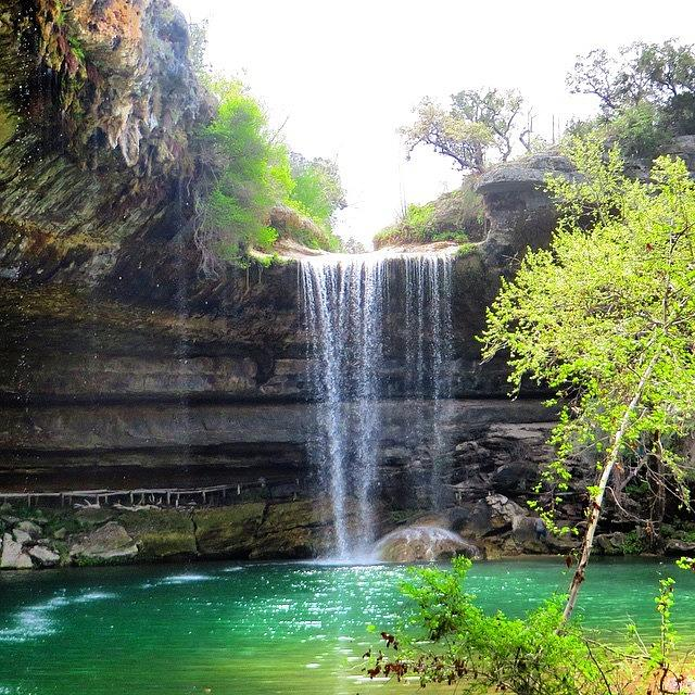 Creek Photograph - Spent The Day At Hamilton Pool. Yes by Austin Tuxedo Cat