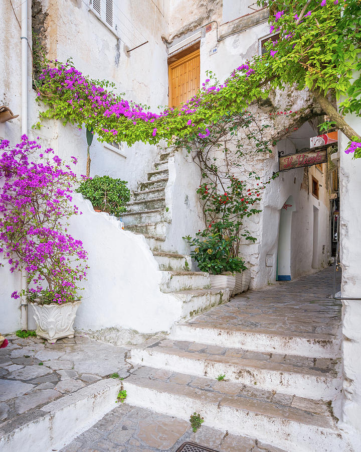 Sperlonga, Latina Province, Lazio, central Italy ...