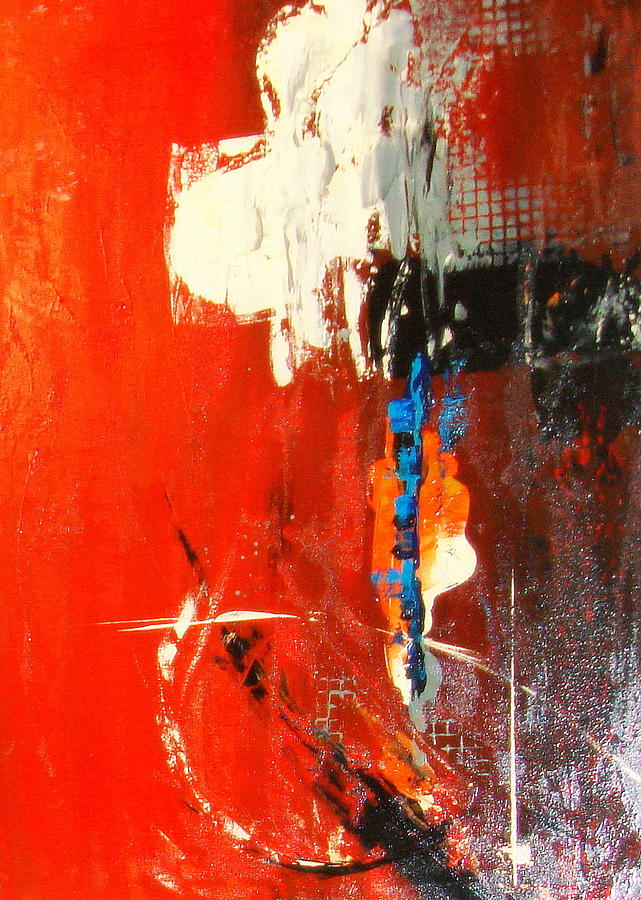 Abstrac Painting - Spiritual Abstrac 20 by Lalo Gutierrez