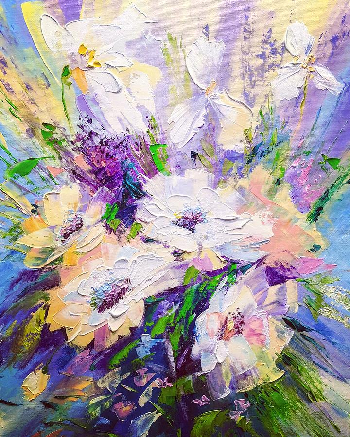 Oil Painting - Spring Time  by Marina Wirtz