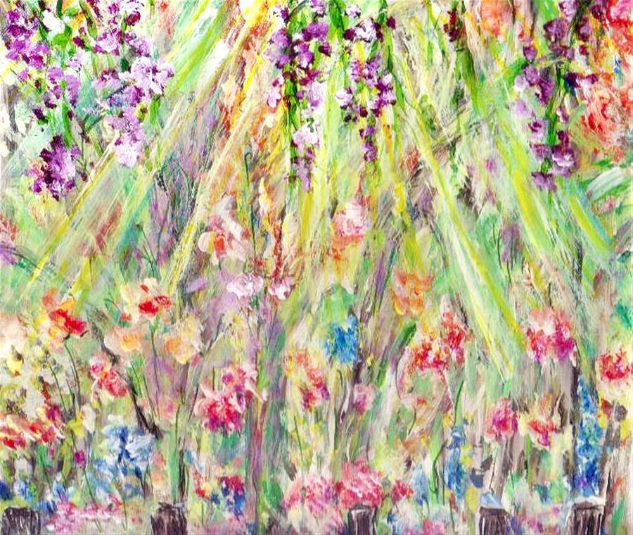 Spring Painting - Spring Time  by Mary Sedici
