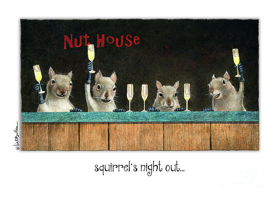 Will Bullas  - Squirrels Night Out... by Will Bullas