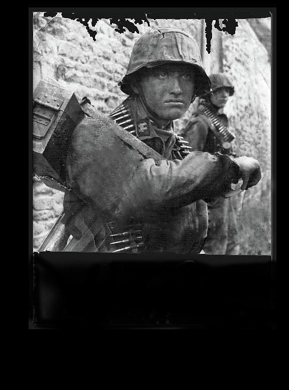 Ss Waffen Corporal Otto Funk Circa 1943 Photograph by David Lee Guss